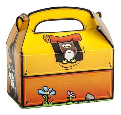Camp Moose on the Loose: Tent Treat Box (pkg. of 12)  -