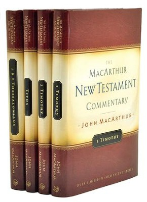 Pastoral Epistles Commentary Set, 4 Volumes: The MacArthur New Testament Commentary  -     By: John MacArthur