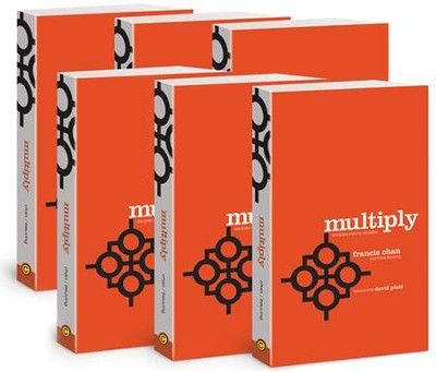 Multiply, Church Edition, 36 copies   -     By: Francis Chan, Mark Beuving