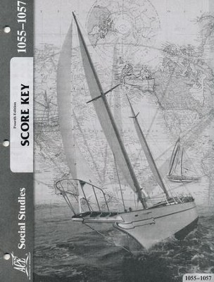 Grade 5 Social Studies PACE Score Key 1055-1057, 4th Edition  -