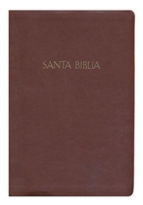 Biblia RVR 1960 Letra Gde. con Ref., Simil Piel Chocolate  (RVR 1960 Giant Print Ref. Bible, Dark Brown LeatherTouch)  -