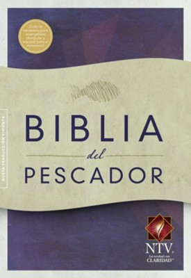 NTV Biblia del Pescador, tapa suave, caja de 12 libros (Fisher of Men Bible, Trade Paper Case of 12)  -