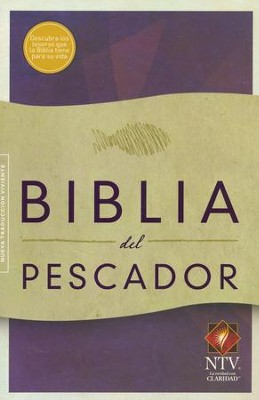 NTV Biblia del Pescador, tapa suave (Fisher of Men Bible)   -