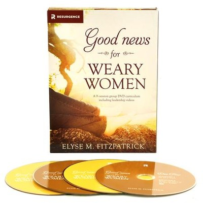 Good News for Weary Women DVD Curriculum  -     By: Elyse M. Fitzpatrick