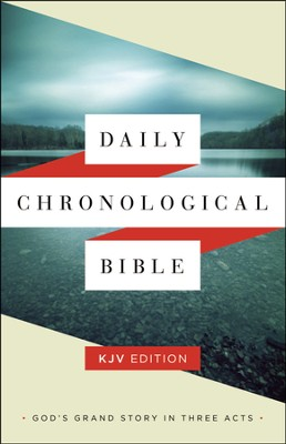 Daily Chronological Bible: KJV Edition, Trade Paper  -