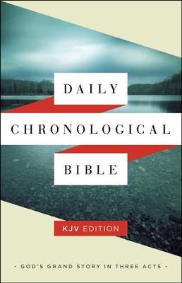 KJV Daily Chronological Bible, hardcover (slightly imperfect)