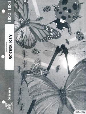 Science PACE SCORE Key 1082-1084, Grade 7 (4th Edition)  -