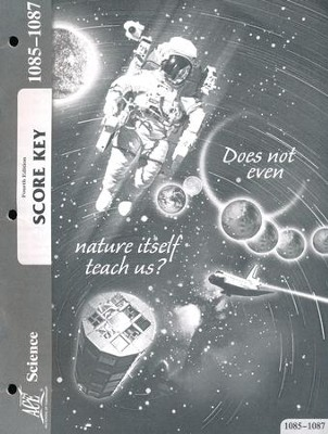 Science PACE SCORE Key 1085-1087, Grade 8 (4th Edition)  -
