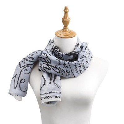 Sister, Poetic Threads Scarf, Blue  -