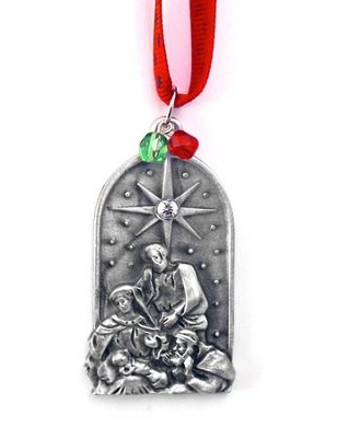 Nativity Scene Ornament, Small  -