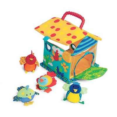 Put and Peek Birdhouse Toy  -