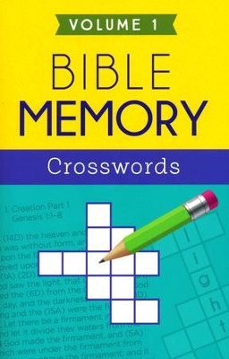 Bible Memory Crosswords Volume 1  -