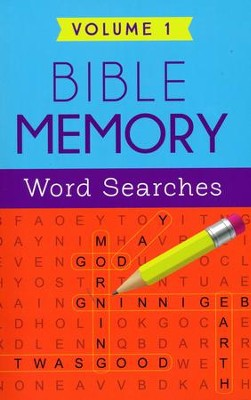 Bible Memory Word Searches Volume 1  -