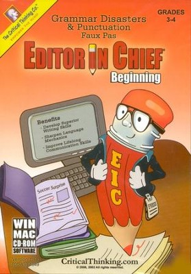 Editor in Chief Beginning on CD-Rom   -