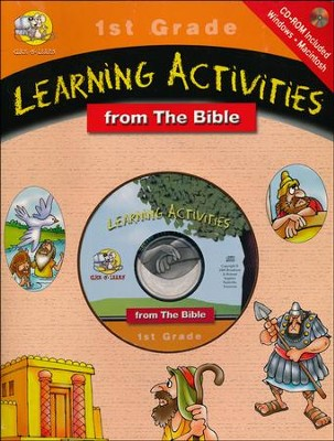 Click-n-Learn CD ROM Activity Book - Grade 1   -