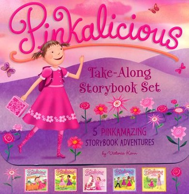 The Pinkalicious Take-Along Storybook Set   -     By: Victoria Kann