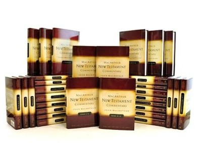 The Complete MacArthur New Testament Commentary,  33 Volumes  -     By: John MacArthur