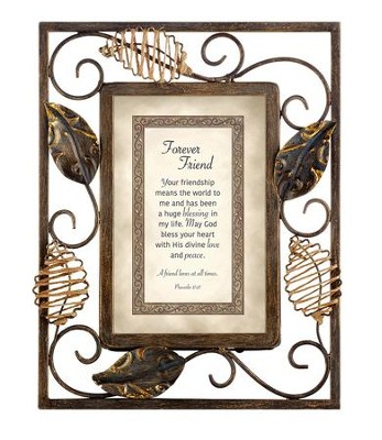 Forever Friend, Proverbs 17:17 Framed Print  -
