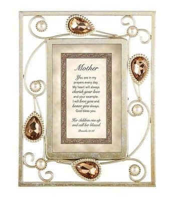 Mother, Proverbs 31:28 Framed Print  -
