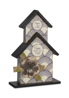 Trust in the Lord, Birdhouse Plaque  -
