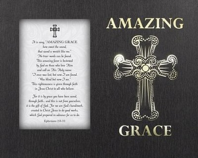 Amazing Grace, Tabletop LED Box  -