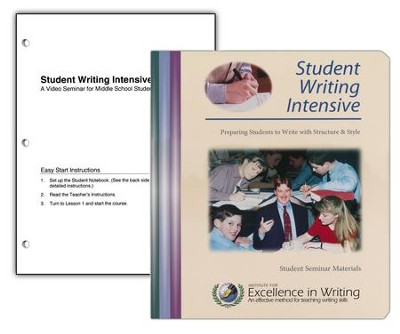 IEW Student Writing Intensive Level B Student Materials   -