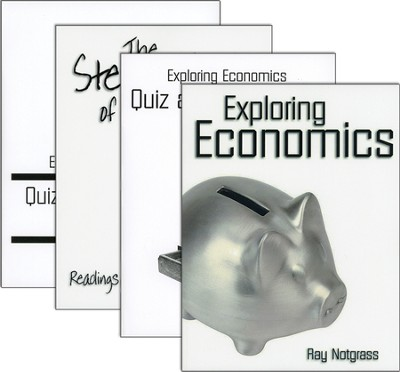 Exploring Economics Set with Quiz & Exam Pack   -     By: Ray Notgrass