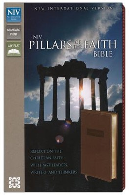 NIV Pillars of the Faith, Italian Duo-Tone, Caramel  -     By: Zondervan