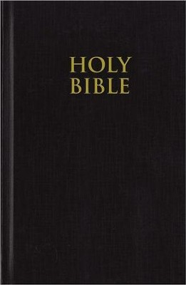 NIV Pew Bible, Hardcover, Black   -