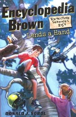 Encyclopedia Brown Series #11: Encyclopedia Brown Lends a Hand    -     By: Donald J. Sobol
