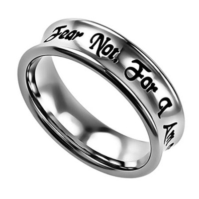 Fear Not, Truth Ring, Size 6   -