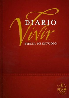 Biblia de Estudio Del Diario Vivir RVR 1960, Enc. Dura  (RVR 1960 Life Application Study Bible, Hardcover)  -     By: Tyndale