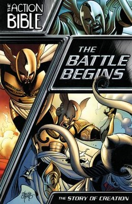 #1: The Action Bible: The Battle Begins   -     By: Caleb Seeling
