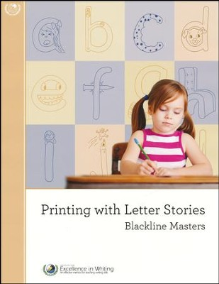Printing with Letter Stories Black Line Masters   -     By: Jill Pike