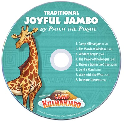 Camp Kilimanjaro VBS Student Music Audio CDs (Pack of 10; Tr  aditional Version)  -