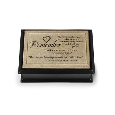 Remember Memory Box, Black  -