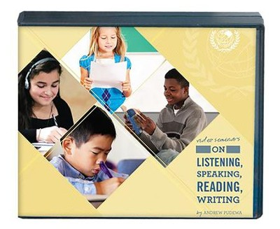 On Listening, Speaking, Reading, and Writing 4-DVD Set   -     By: Andrew Pudewa
