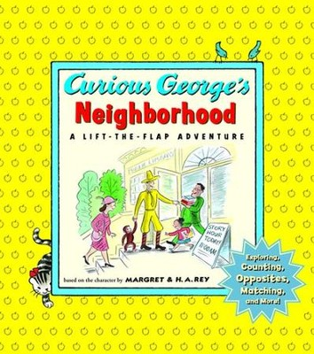 Curious George's Neighborhood, Board Book   -     By: Margret Rey, H.A. Rey