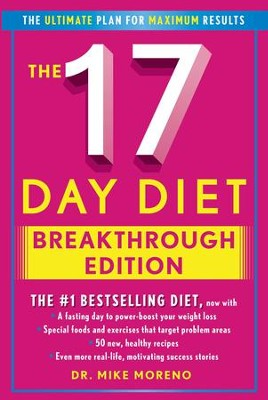The New 17 Day Diet Breakthrough - eBook  -     By: Dr. Mike Moreno
