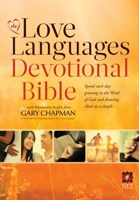 NLT Love Languages Devotional Bible, hardcover  -