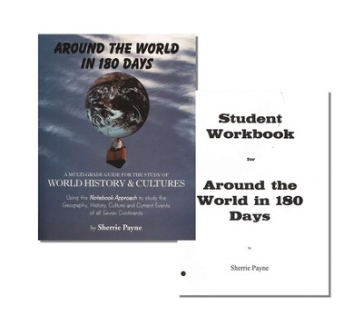 Around the World in 180 Days 1st Edition Kit (Teacher's Guide & Loose-Leaf Student Worksheets)  -     By: Sherrie Payne