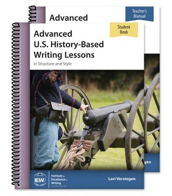 Advanced U.S. History-Based Writing Lessons Teacher/Student    Combo Package  -     By: Lori Verstegen