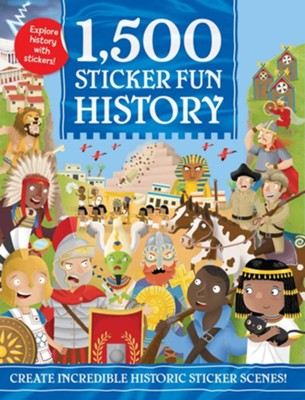 1,500 Sticker Fun, History  -     By: Joshua George     Illustrated By: Ed Meyer