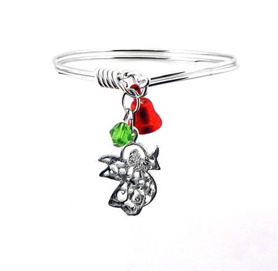 Christmas Angel Bracelet  -