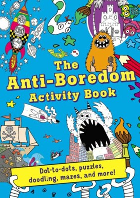 Anti-Boredom Activity Book  -