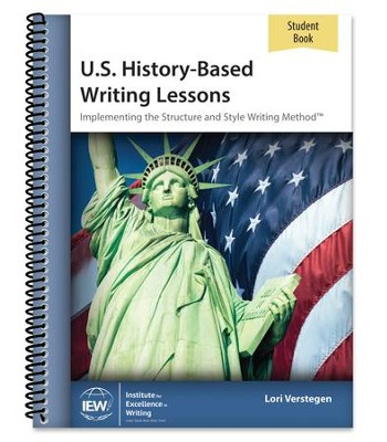 U.S. History-Based Writing Lessons Student Book   -     By: Lori Verstegen