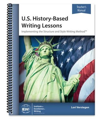 U.S. History-Based Writing Lessons Teacher's Manual   -     By: Lori Verstegen