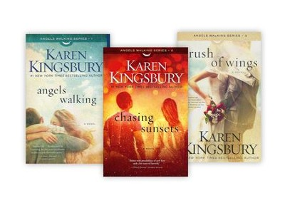 Angels Walking Series, Volumes 1-3  -     By: Karen Kingsbury