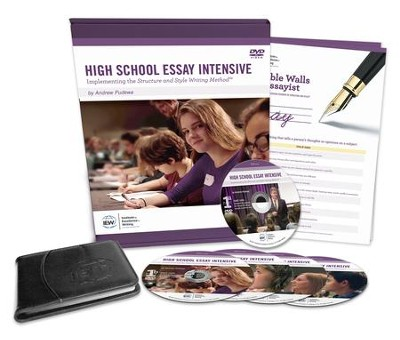 High School Essay Intensive (Second Edition)   -     By: Andrew Pudewa