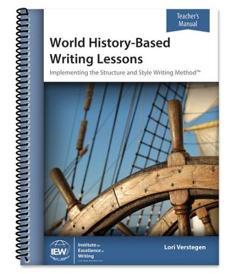 World History-Based Writing Lessons Teacher's Manual   -     By: Lori Verstegen